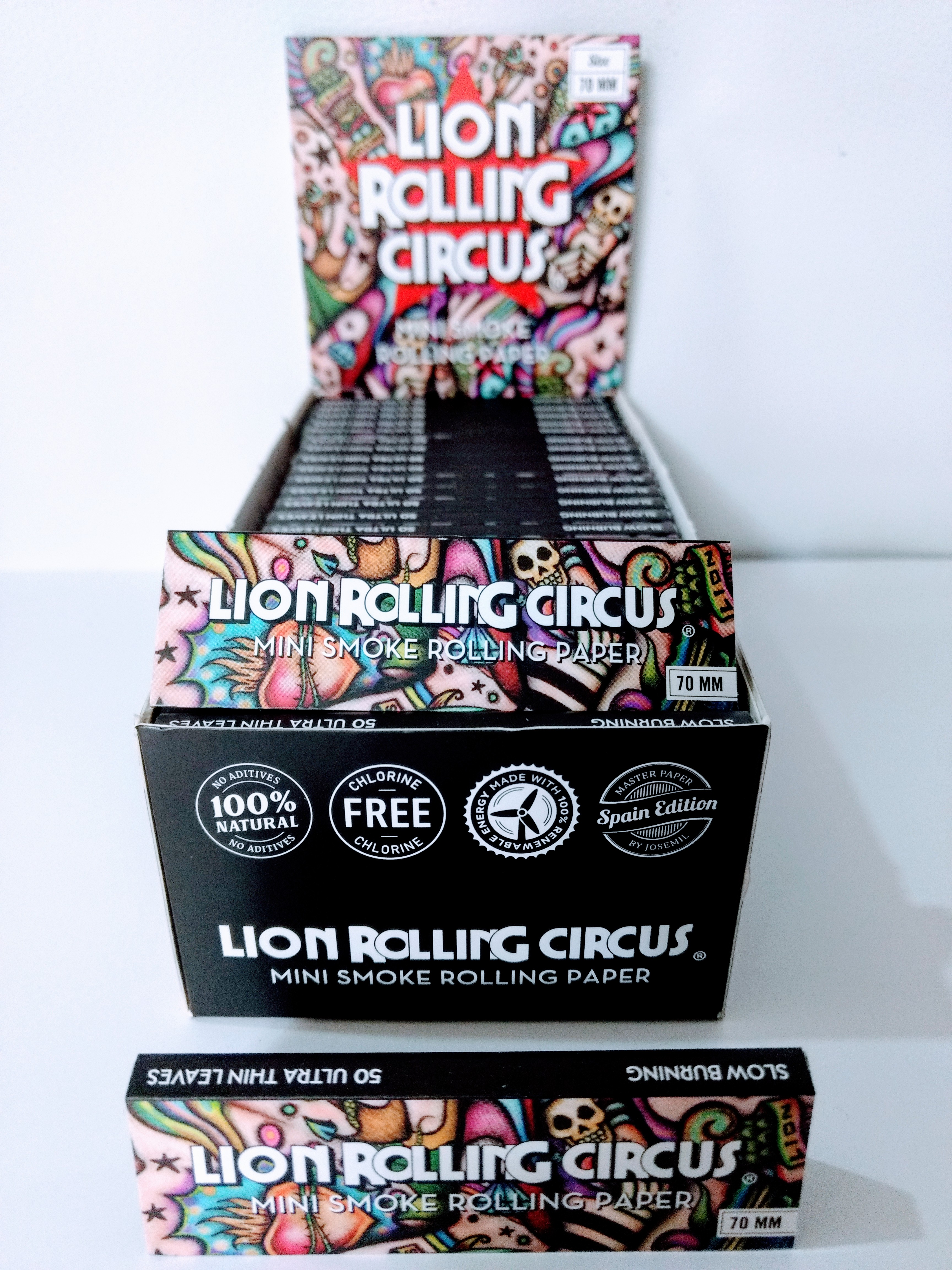 PAPEL LION ROLLING CIRCUS
