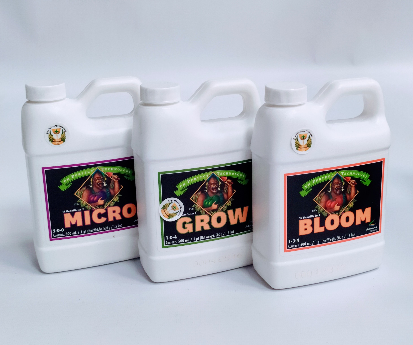 ADVANCED MICRO/GROW/BLOOM 500ml