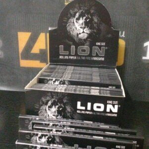 Rolling Paper Ultra Fino KIng Size Lion
